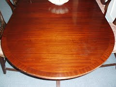 Table water damage repair
