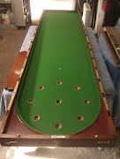 Restoration of Bagatelle Table