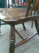 Restoration of Windsor Chair