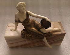 Restoration of Art Deco Ivory Figurine