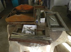 Restoration of Teak Barge Hatches